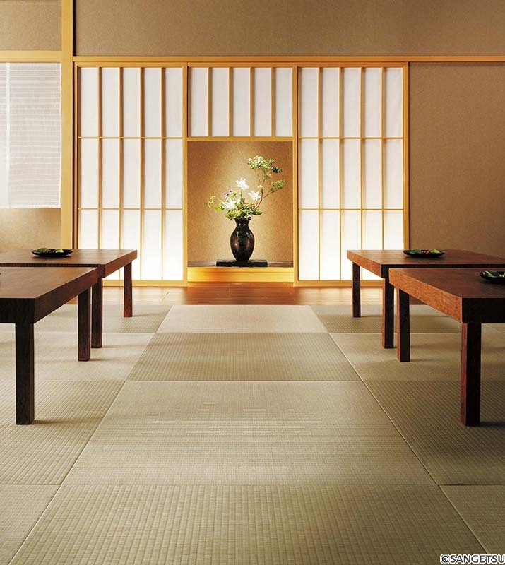 Sàn vinyl viên vân thảm, đá, chiếu tatami