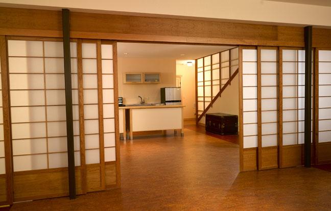 Vách, cửa lùa dán giấy Shoji