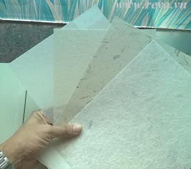 Giấy shoji phủ vinyl
